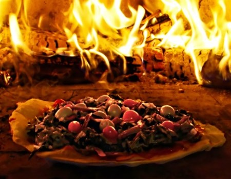 Out of the pizza oven... into the political fire